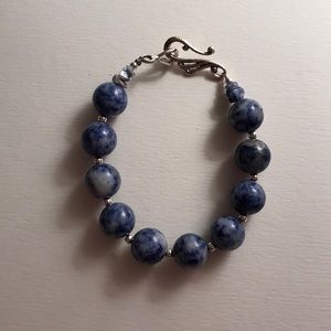 Jewelry - Blue and silver bracelet